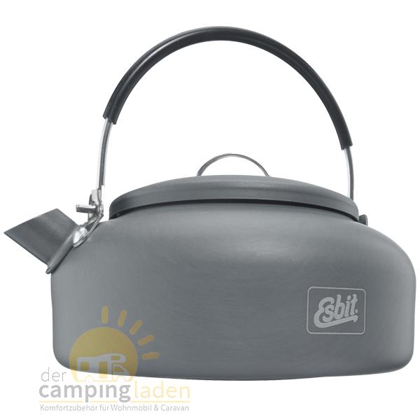Esbit WK600HA Alu Camping Wasserkessel Teekessel Wohnmobil Boot 0,6 Liter