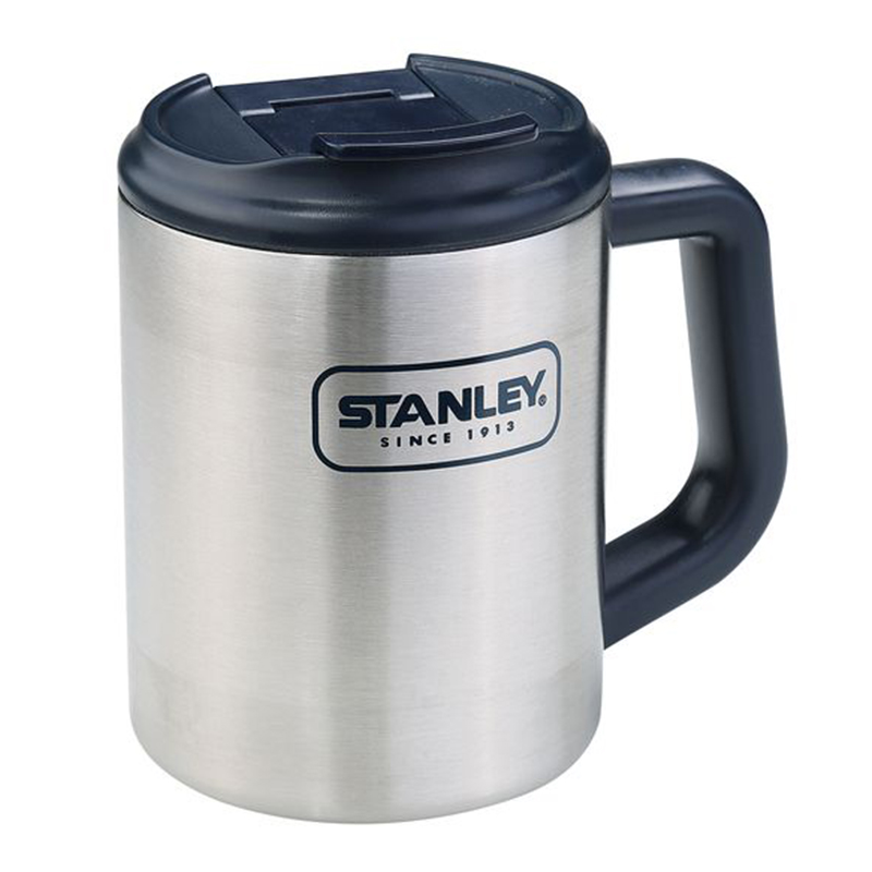 Stanley Adventure Becher CAMP MUG, 18/8 Edelstahl, doppelwandige Isolation