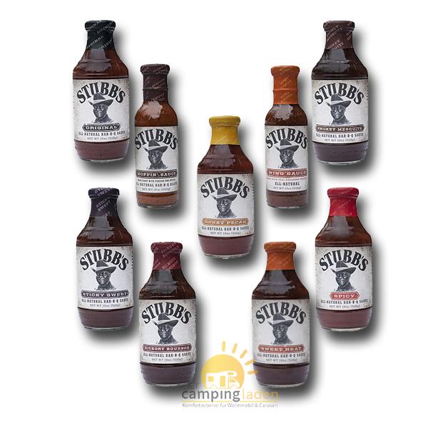Stubb's Bar-B-Q Saucen 510g BBQ Grill Smoker Stubbs Sauce - Auswahl