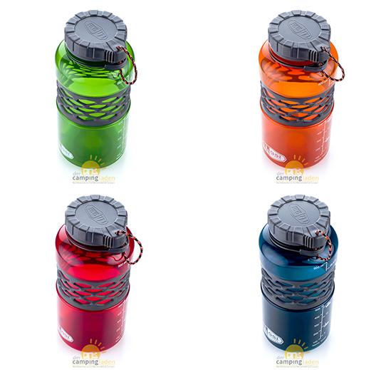 GSI DukJug 1Liter Weithals Outdoorflasche Trinkflasche Wasserflasche Farbauswahl