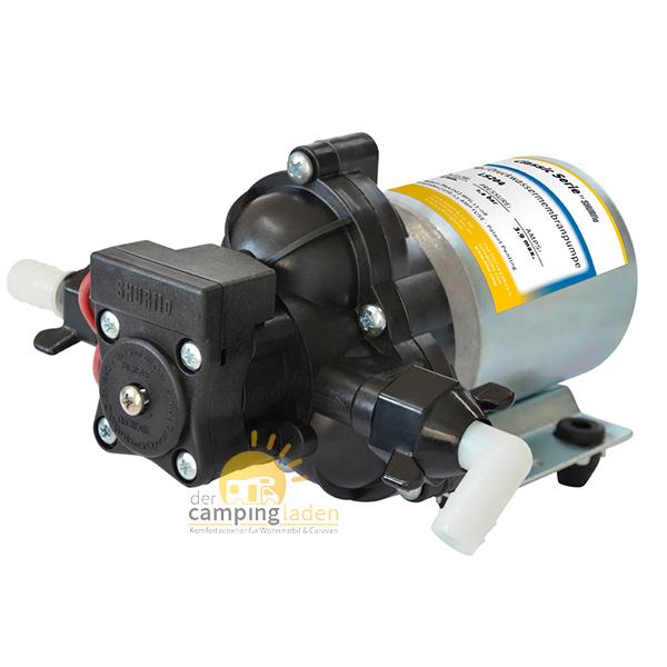 SHURflo® Junior Pumpe Wohnmobil und Marine 1,4 bar 7,0 l/min Druckwasserpumpe