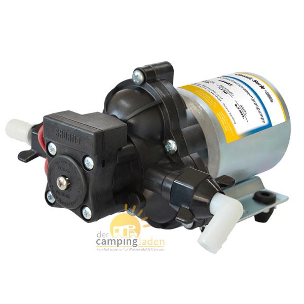 SHURflo® Highflo Pumpe Wohnmobil und Marine 2,1 bar 10,6 l/min Druckwasserpumpe