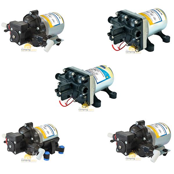 SHURflo® Pumpen für Wohnmobil und Marine Druckwasserpumpen Auswahl 7,0-11,3 bar