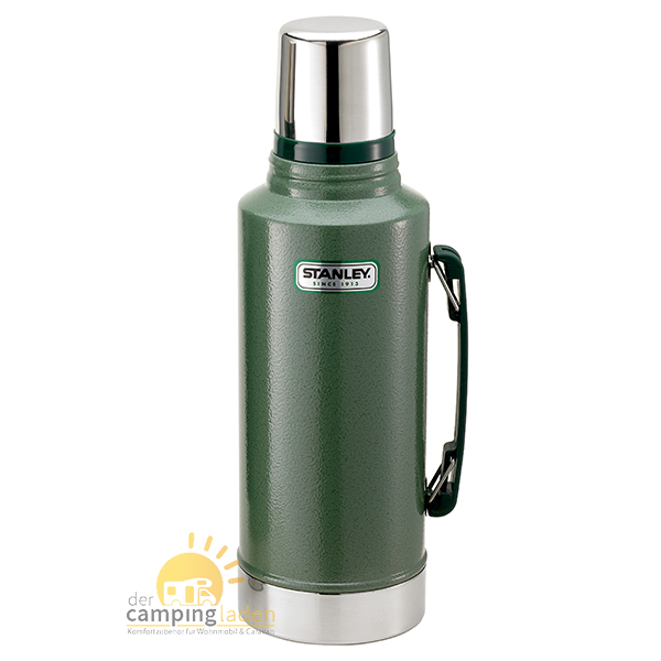 Stanley Thermosflasche Vakuum-Flasche, 2 Ltr, 18/8 Edelstahl, Thermoskanne grün