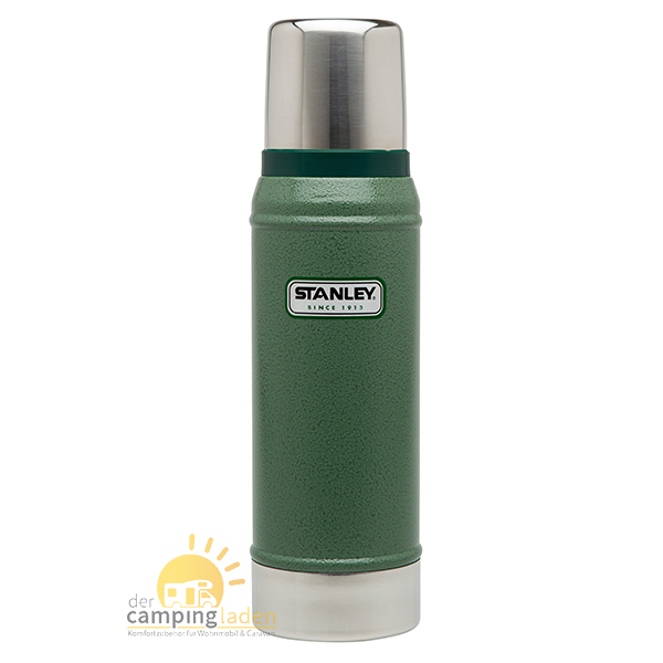 Stanley Thermosflasche Vakuumflasche, 0,75Ltr, 18/8 Edelstahl, Thermoskanne grün