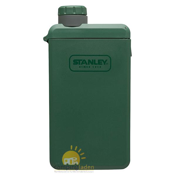 Stanley Adventure eCycle Taschenflasche, 210 ml, Flachmann grün