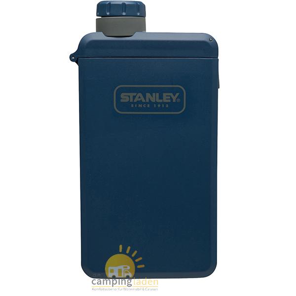 Stanley Adventure eCycle Taschenflasche, 210 ml, Flachmann navy blau