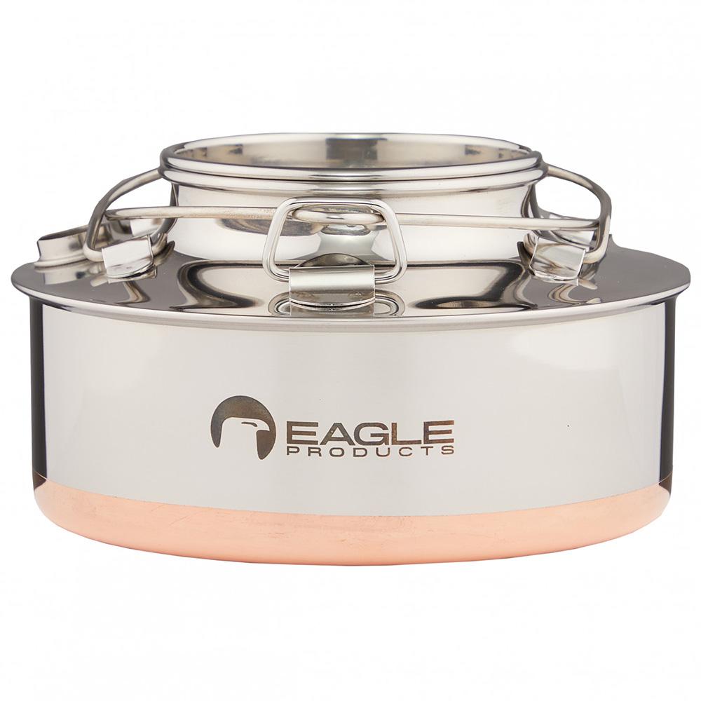 Eagle Wasserkessel 0,7L Teekessel Wasserkocher Kaffee Tee Camping Edelstahl