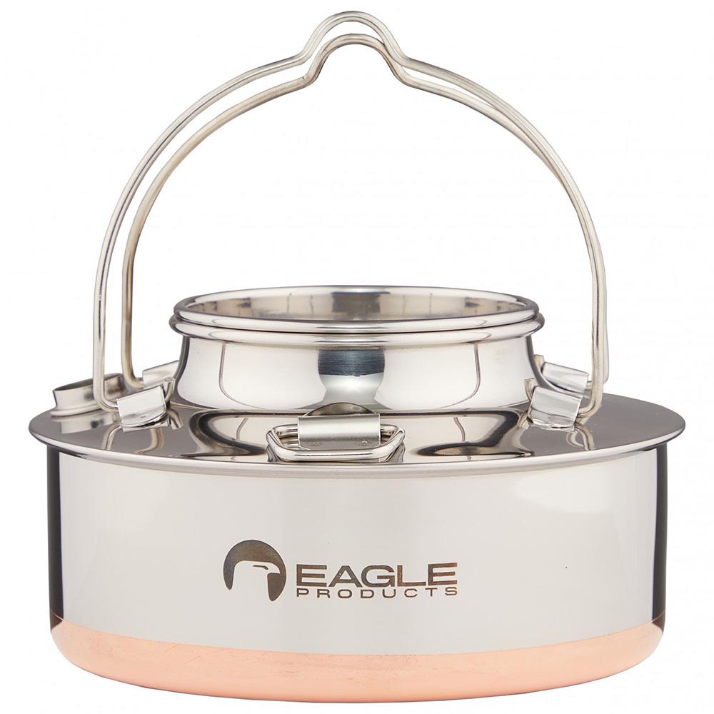 Eagle Wasserkessel 1,5L Teekessel Wasserkocher Kaffee Tee Camping Edelstahl