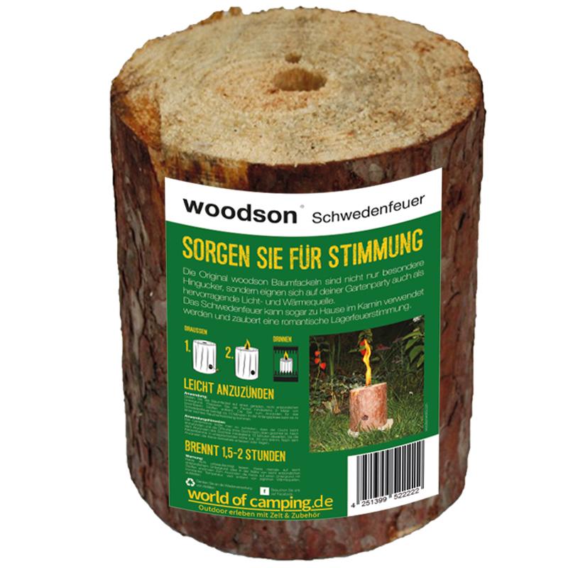 Schwedenfeuer Feuer Baumfackel Gartenfackel Finnenfackel Fackel Outdoor Woodson